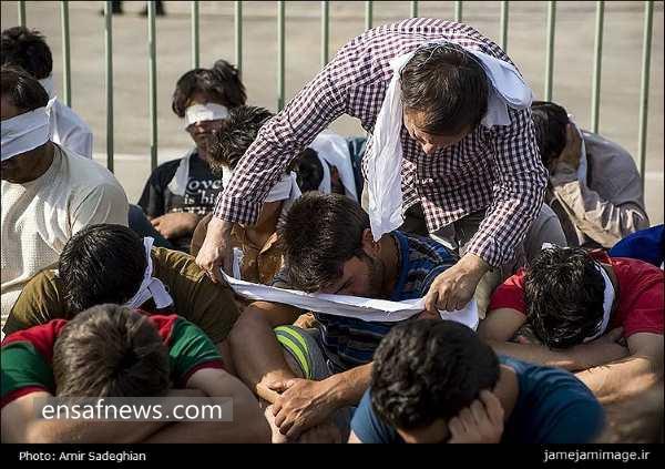 بررسی ماجرای نمایش افراد دستگیر شده در شیراز